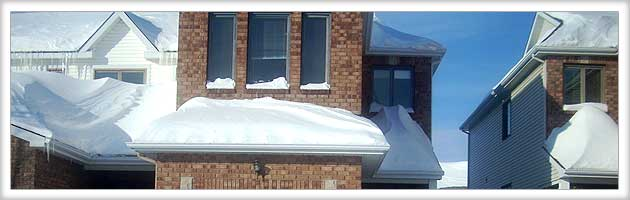 Ottawa Residential And Commercial Snow Plowing Roof Snow